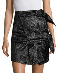 Carmen March - Parachute Silk Mini Skirt - Lyst