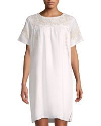 Roberta Roller Rabbit - Neapolitan Archipelago Vivan Linen Shift Dress - Lyst