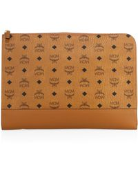 MCM - Signature Logo Document Case - Lyst
