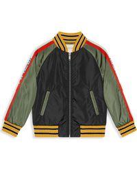 2501e0307 Gucci - Little Boy's & Boy's Padded Bomber Jacket - Lyst