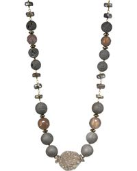 Chan Luu - Mystic Lab & Sterling Silver Mix Necklace - Lyst