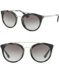 Prada | 52mm Phantos Sunglasses | Lyst