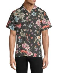 Ovadia And Sons - Beach Bouquet Button-down Shirt - Lyst