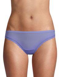On Gossamer - Next To Nothing Sheer Bikini - Lyst