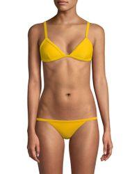 Wildfox - Kayla Bikini Top - Lyst