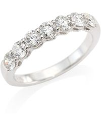 Hearts On Fire - Multiplicity Love Seven-diamond Band Ring - Lyst