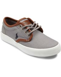Ralph Lauren - Kid's Waylon Canvas Sneakers - Lyst