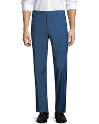 Canali - Heathered Dress Trousers - Lyst