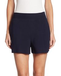 The Row - Selbia Wool Shorts - Lyst