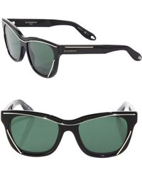 Givenchy - Classic 56mm Square Sunglasses - Lyst