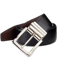 Saks Fifth Avenue - Reversible Leather Belt - Lyst