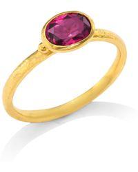 Gurhan - Delicate Hue Pink Tourmaline Stacking Ring - Lyst