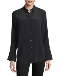 Equipment - Rossi Button Sleeve Shirt - Lyst