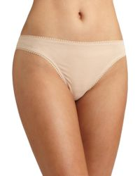 On Gossamer - Cabana Cotton Hip-g Thong - Lyst