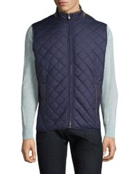 Peter Millar - Essex Tailgate Quilted Vest - Lyst
