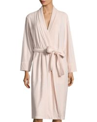 Natori - Brushed Spa Terry Robe - Lyst