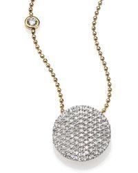 Phillips House - Affair Diamond & 14k Yellow Gold Infinity Bezel-accent Necklace - Lyst