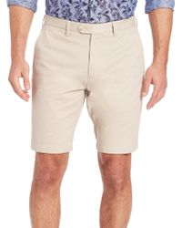 Saks Fifth Avenue - Pima Cotton Shorts - Lyst