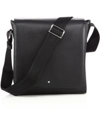 Montblanc - Leather North/south Bag - Lyst