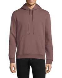 Theory | Essential Fleece Hoodie | Lyst