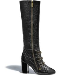 Chanel - High Boots - Lyst
