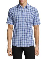 Zachary Prell - Plaid Button-down Shirt - Lyst