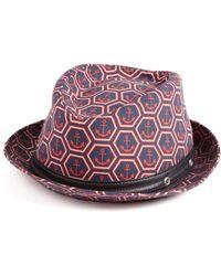 Vilebrequin - Anchor Fedora Hat - Lyst