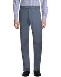 Peter Millar - Twill Flat Front Trousers - Lyst