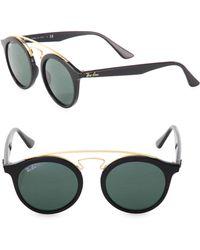 Ray-Ban - 46mm Gatsby Mirrored Sunglasses - Lyst