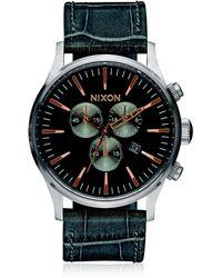 Nixon - Sentry Chronograph Watch - Lyst