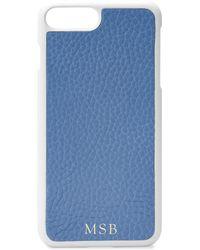 Gigi New York - Cornflower Pebbled Leather Iphone 7 Plus Case - Lyst