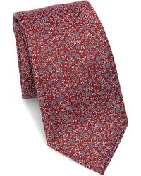 Saks Fifth Avenue - Collection Floral Silk Tie - Lyst