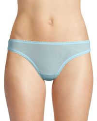 On Gossamer - Low Rise Mesh Hip-g Thong - Lyst