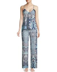 In Bloom - On The Water Camisole And Trousers Set - Lyst