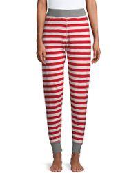 Sleepy Jones - Helen Cotton Stripe Leggings - Lyst