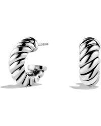 David Yurman | Cable Classics Earrings | Lyst