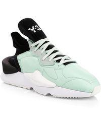 Y-3 Kaiwa Sneakers - Green