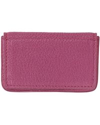 Graphic Image - Magnetic Leather Card Case - Lyst