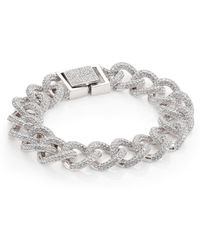 Adriana Orsini - Pave Curb Chain Bracelet - Lyst