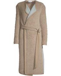 Yigal Azrouël Reversible Belted Alpaca Coat