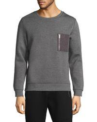 The Kooples - Crewneck Sweatshirt - Lyst
