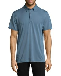 AG Green Label - Tarrant Solid Polo - Lyst