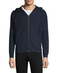 Tomas Maier - Zip-up Hooded Sweater - Lyst