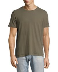 AG Jeans - Regular-fit Cotton Tee - Lyst