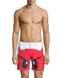 Orlebar Brown - Printed Shorts - Lyst