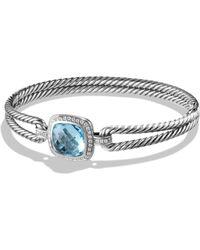 David Yurman - Albion Bracelet With Diamonds - Lyst