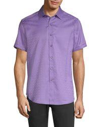 Robert Graham - Diamente Tonal Print Button-down Shirt - Lyst