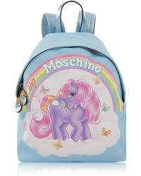 Moschino | My Little Pony Print Backpack Light Blue | Lyst