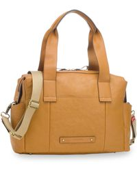 Storksak - Kym Calfskin Leather Diaper Tote Bag - - Lyst