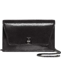 Akris - Anouk Patent Leather Convertible Clutch - Lyst